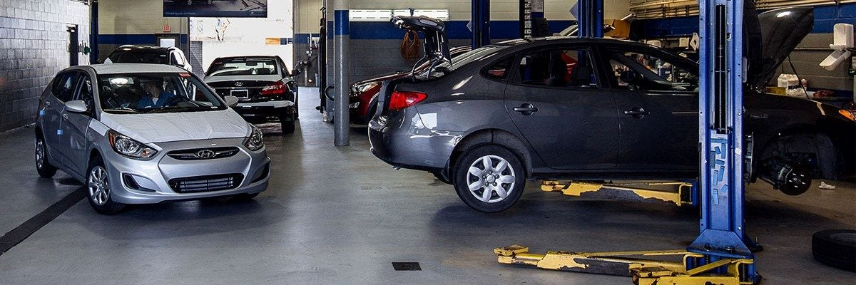 Hyundai Service Amenities